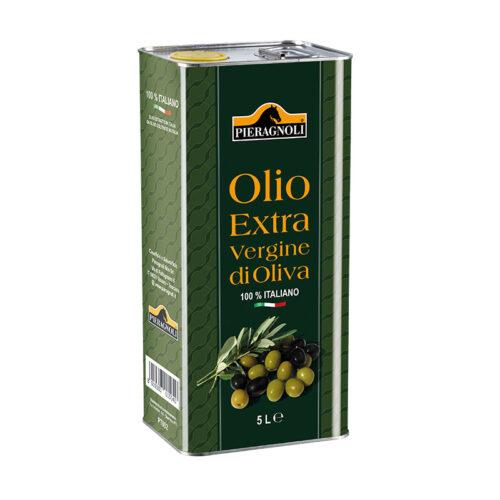 Olio Extravergine di Oliva in latta Pieragnoli