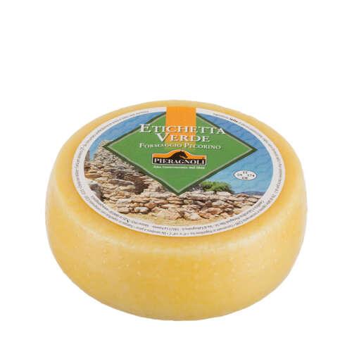 Formaggio pecorino Etichetta Verde Pieragnoli