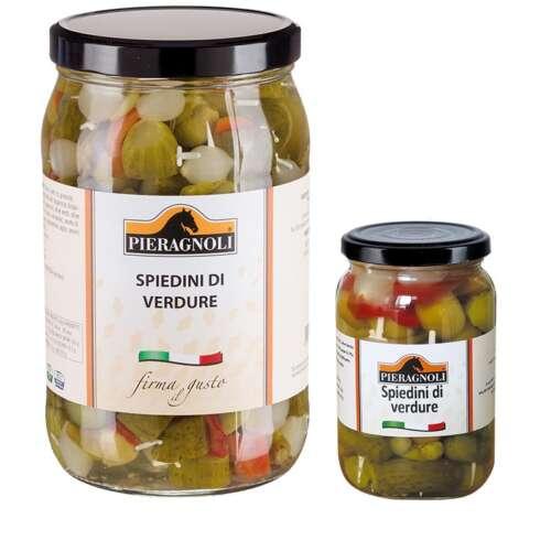 Spiedini di verdure sottaceto Pieragnoli