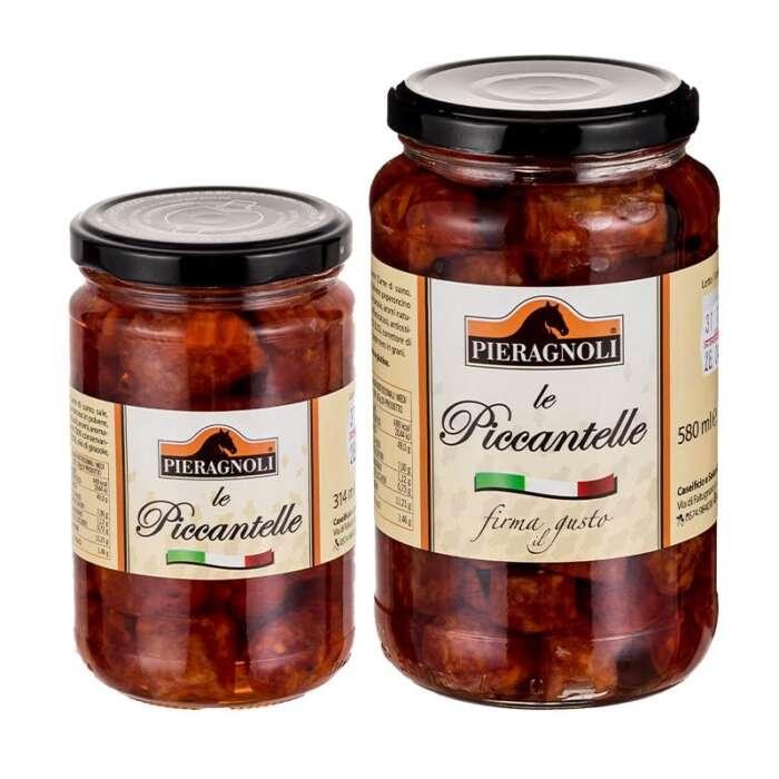 Le piccantelle sottolio Pieragnoli